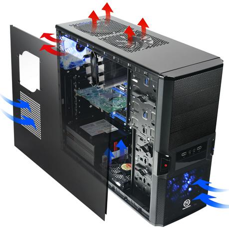 Flujo de aire en el PC