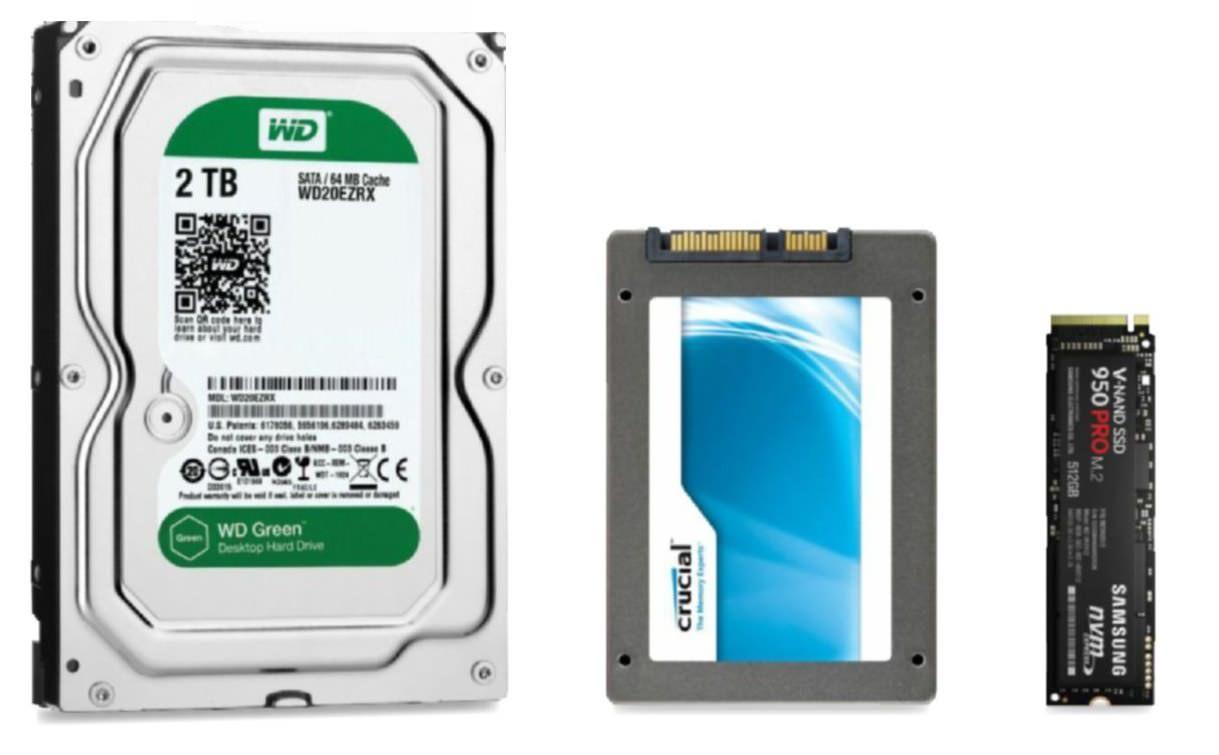 Cambiar tu viejo HDD por un SSD